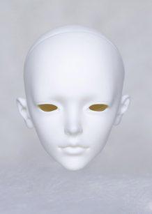 DOLLZONE Gray Head